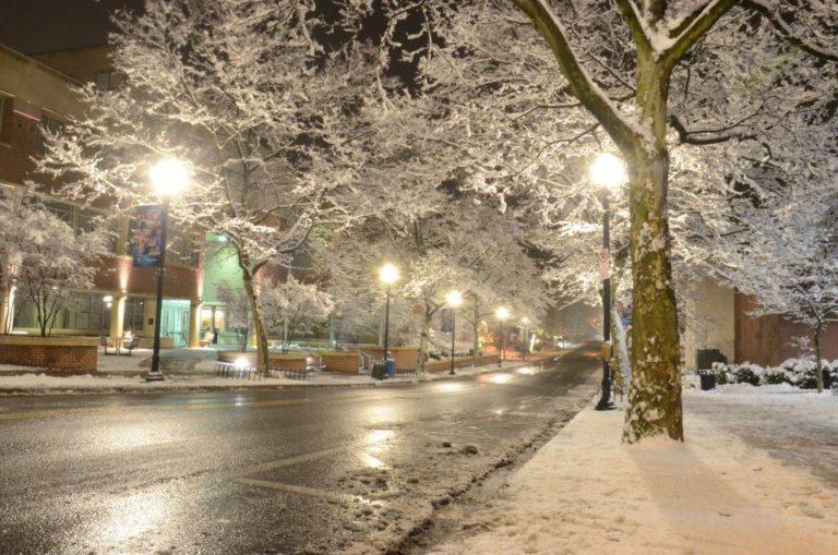 A Gray Penn State Winter